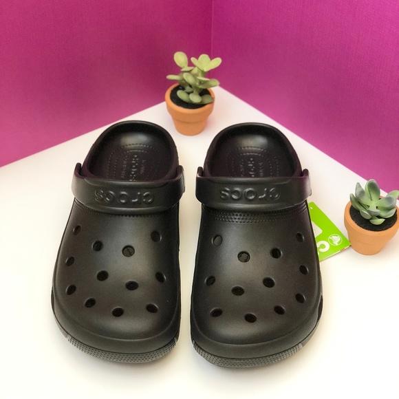 9c0d743fa531d Crocs WOMEN Coast Clog - BLACK. NWT. crocs.  25  45. Size. 6. 7